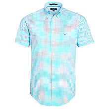 Buy Gant Short Sleeve Gingham Check Shirt Online at johnlewis.com