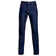 Buy Gant Jason Fit Comfort Denim, Dark Blue Online at johnlewis.com