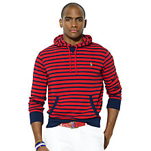 Buy Polo Ralph Lauren Striped Hooded Jersey Sweat Top Online at johnlewis.com