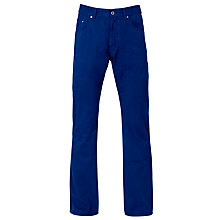 Buy Gant Canyon Canvas Trousers, Blue Online at johnlewis.com