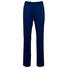Buy Gant Straight Leg Cotton Chinos, Blue Online at johnlewis.com