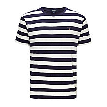 Buy Gant Barstripe Cotton T-Shirt Online at johnlewis.com