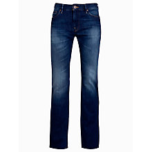 Buy BOSS Orange Orange24 Barcelona Straight Jeans, Blue Wash Online at johnlewis.com