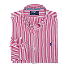 Buy Polo Ralph Lauren Slim Fit Bengal Stripe Shirt Online at johnlewis.com