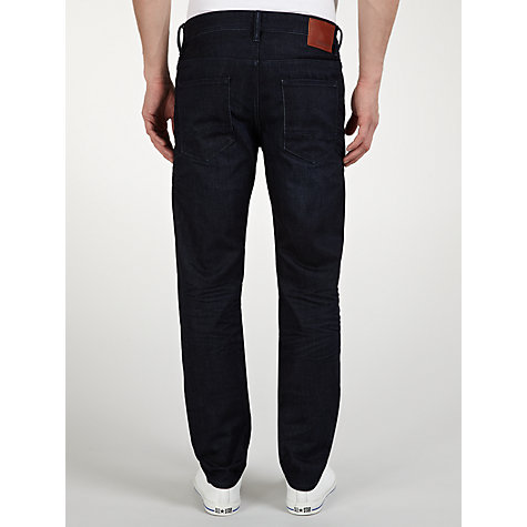 Buy BOSS Orange Heavy Indigo Slim Leg Jeans, Indigo Blue Online at johnlewis.com