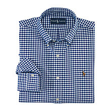Buy Polo Ralph Lauren Custom Fit Gingham Check Shirt Online at johnlewis.com