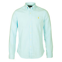 Buy Polo Ralph Lauren Slim Fit Summer Oxford Shirt Online at johnlewis.com