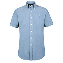 Buy Polo Ralph Lauren Chambray Short Sleeve Shirt Online at johnlewis.com