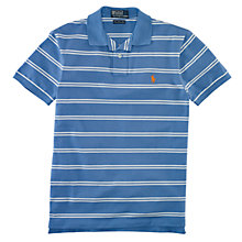 Buy Polo Ralph Lauren Striped Slim Fit Stretch Polo Top Online at johnlewis.com