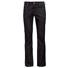Buy BOSS Orange Orange24 Barcelona Straight Jeans, Dark Indigo Online at johnlewis.com