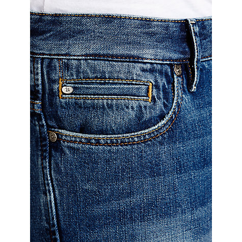 Buy BOSS Orange Regular Fit Jeans, Light Blue Online at johnlewis.com
