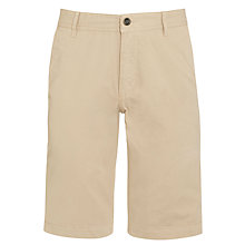 Buy BOSS Orange Schino Shorts, Dark Sand Online at johnlewis.com