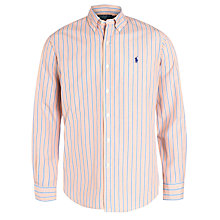 Buy Polo Ralph Lauren Striped Shirt, Pink/Blue Online at johnlewis.com