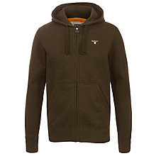 Buy Barbour Bradley Cotton Plain Hoodie Online at johnlewis.com