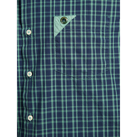 Buy Barbour Laundryman Check Eyelet Detail Shirt Online at johnlewis.com