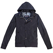 Buy Tommy Hilfiger Aiden Bomber Jacket, Navy Online at johnlewis.com