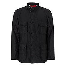 Buy Barbour Bede Lightweight Cotton Field Jacket, Black Online at johnlewis.com