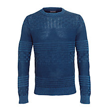 Buy Tommy Hilfiger Baxter Multi Knit Jumper Online at johnlewis.com