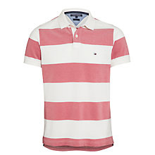 Buy Tommy Hilfiger Venice Stripe Polo Top Online at johnlewis.com