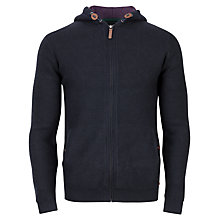 Buy Ted Baker Boltz Hooded Cardigan, Navy Online at johnlewis.com