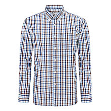 Buy Barbour Flagstaff Check Shirt, Blue/Multi Online at johnlewis.com