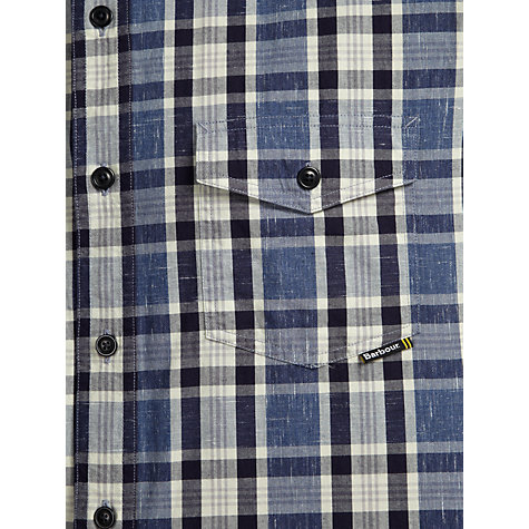 Buy Barbour Flecked Cotton Check Shirt Online at johnlewis.com