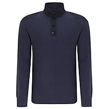 Buy Barbour Falltown Button Neck Jumper Online at johnlewis.com
