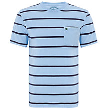 Buy Barbour Laundryman Stripe Short Sleeve T-Shirt Online at johnlewis.com