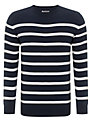 Barbour Cashmere Cotton Blend Breton Stripe Jumper
