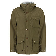 Buy Barbour Sandbridge Field Jacket, Olive Online at johnlewis.com