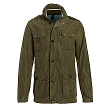 Buy Tommy Hilfiger Calder Field Jacket, Green Online at johnlewis.com