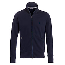 Buy Tommy Hilfiger Nelson Zip-Up Sweatshirt, Navy Online at johnlewis.com