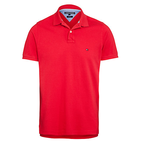 Buy Tommy Hilfiger Slim Fit Polo Top Online at johnlewis.com