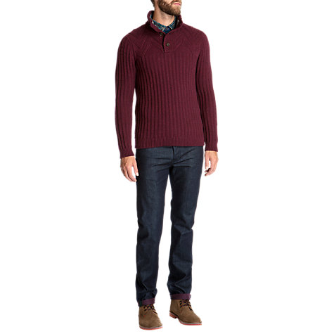 Buy Ted Baker Glaston Textured Knit Jumper Online at johnlewis.com