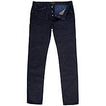 Buy Ted Baker Soannoy Jeans, Dark Indigo Blue Online at johnlewis.com