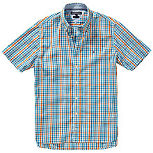 Buy Tommy Hilfiger Birgen Short Sleeve Check Shirt Online at johnlewis.com