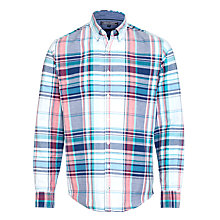 Buy Tommy Hilfiger Robin Check Shirt, Blue/Multi Online at johnlewis.com