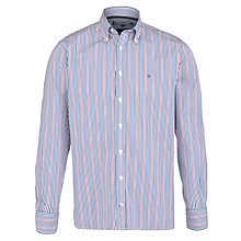 Buy Tommy Hilfiger New Keith Striped Long Sleeve Shirt, Multi Online at johnlewis.com