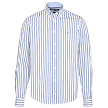 Buy Tommy Hilfiger Raf Stripe Shirt, Blue/White Online at johnlewis.com