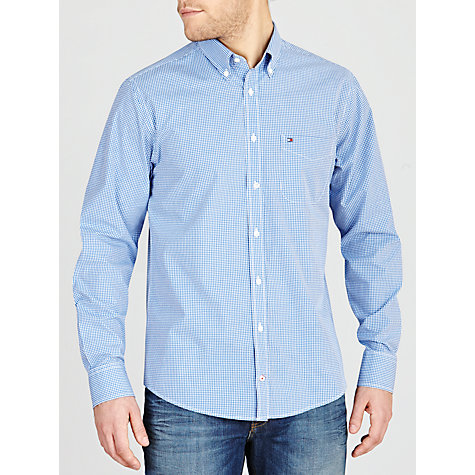 Buy Tommy Hilfiger Devan Check Long Sleeve Shirt Online at johnlewis.com
