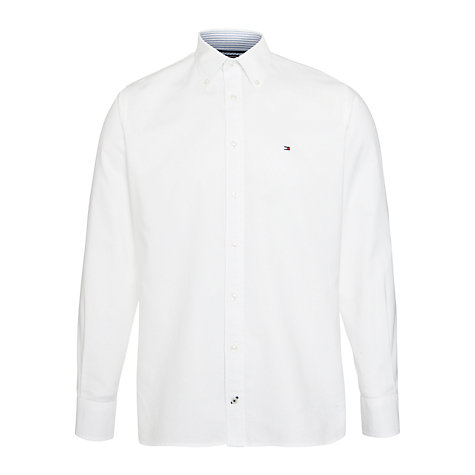 Buy Tommy Hilfiger Long Sleeve College Oxford Shirt Online at johnlewis.com