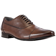 Buy Kin by John Lewis Alfie Leather Oxford Shoes, Brown Online at johnlewis.com