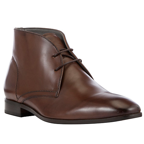 Buy Kin by John Lewis Hughie Leather Chukka Boots, Tan Online at johnlewis.com