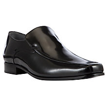 Buy Kin by John Lewis Edward Tramline Slip On Shoes, Black Online at johnlewis.com