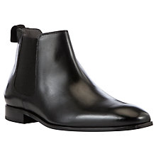 Buy Kin by John Lewis Ralph Leather Chelsea Boots, Black Online at johnlewis.com
