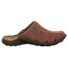 Buy Josef Seibel Logan 22 Leather Sandals, Nut Online at johnlewis.com