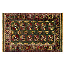 Buy John Lewis Turkoman Handmade Rug, Green Online at johnlewis.com
