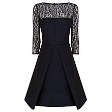 Buy Coast Serish Short Dress, Navy Online at johnlewis.com