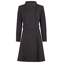 Buy Kaliko Full Skirt Coat, Black Online at johnlewis.com
