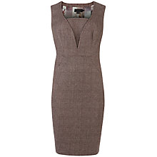 Buy Ted Baker Rometid Checked Dress, Grey Online at johnlewis.com